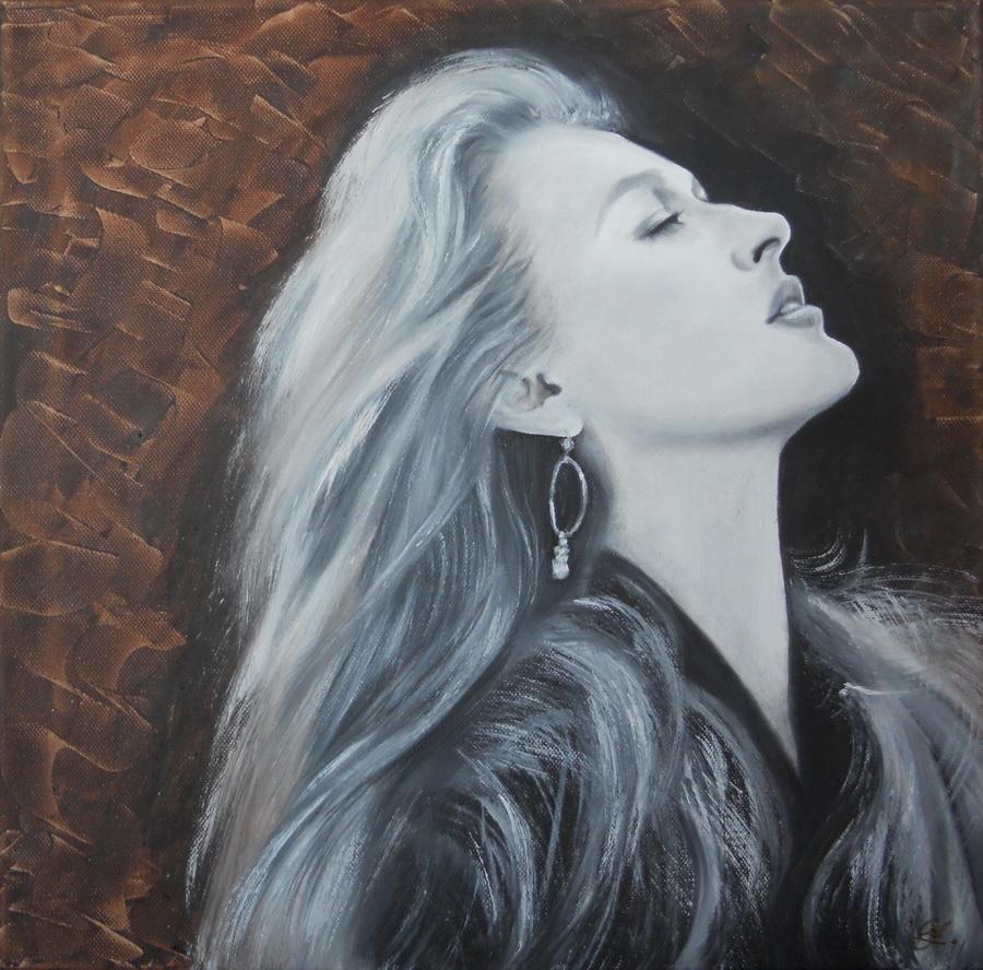 Meryl Streep 2  40x40cm