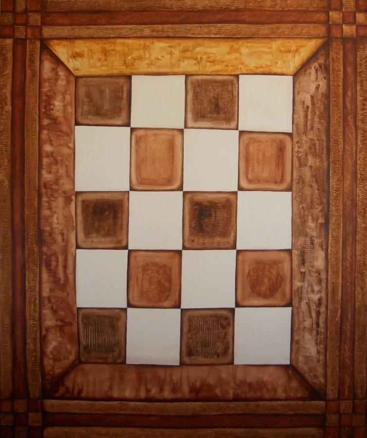 Velkoformátový obraz - Šach-mat 120x100cm