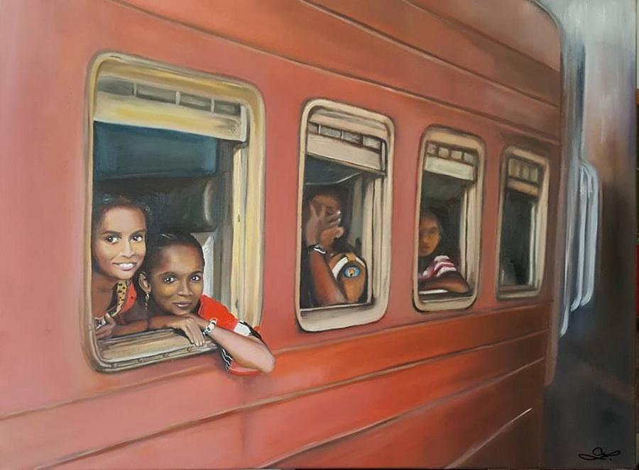 Ze Srílanského vlaku
