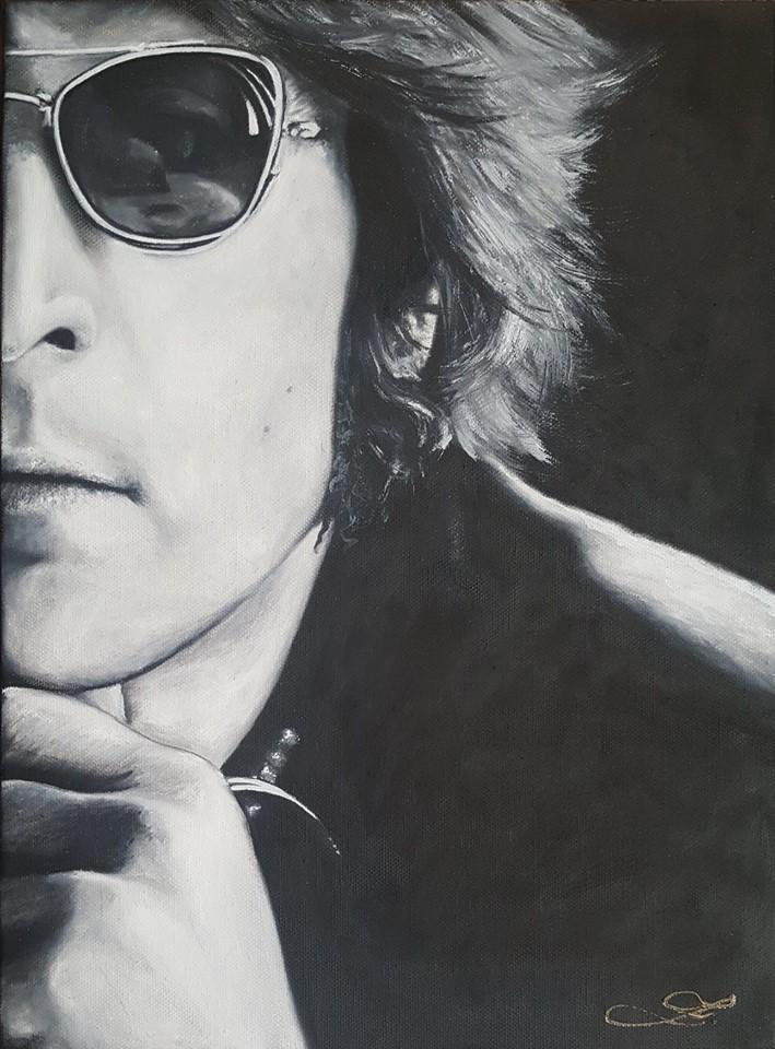 John Lennon 02  40x30cm