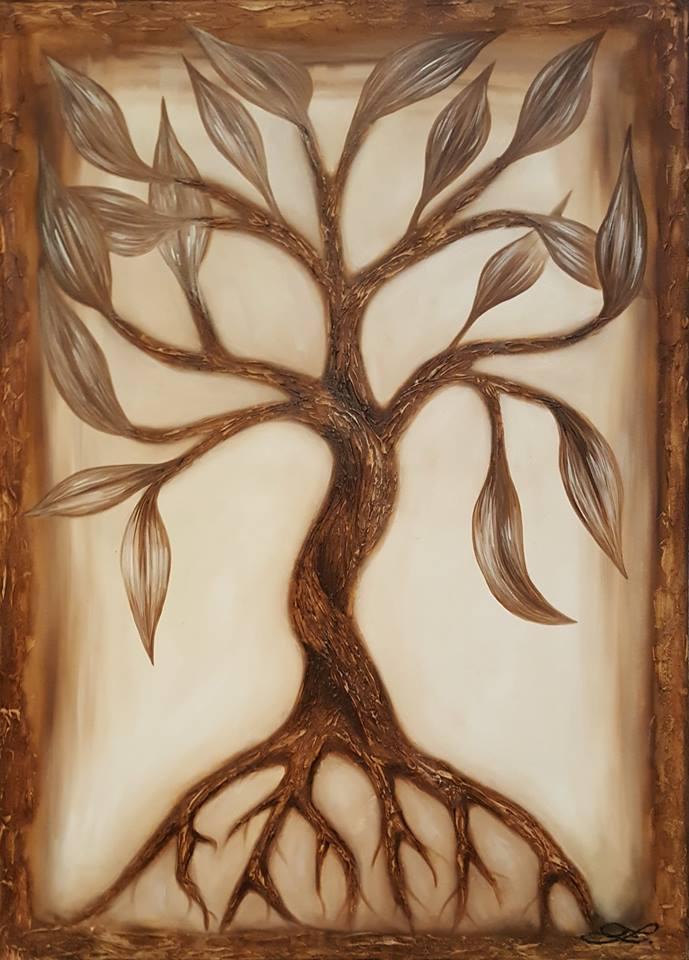 Strom života  70x50cm