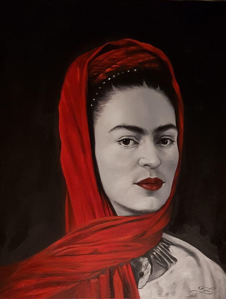 Frida Kahlò  - 65x50cm